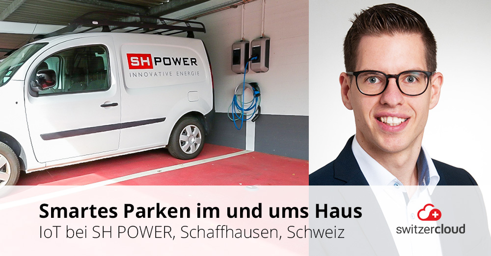 Smartes Parking bei SH POWER AG, Schaffhausen
