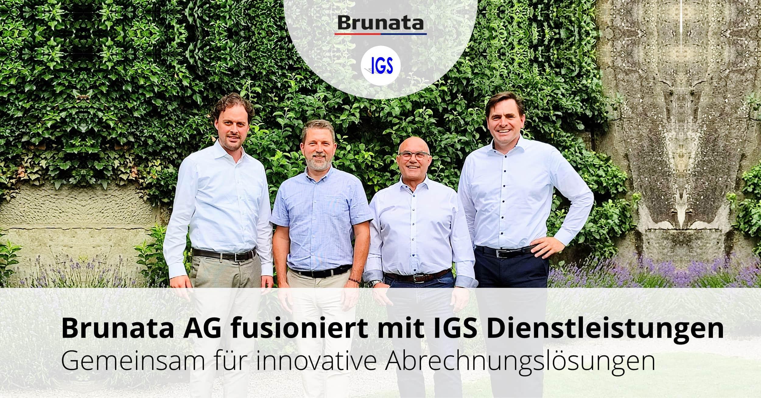 Brunata AG fusioniert mit IGS Dienstleistungen AG
