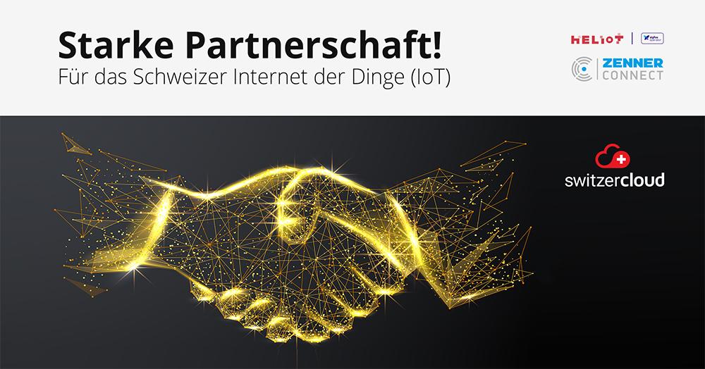 HELIOT und ZENNER Connect beschliessen Partnerschaft in der Schweiz