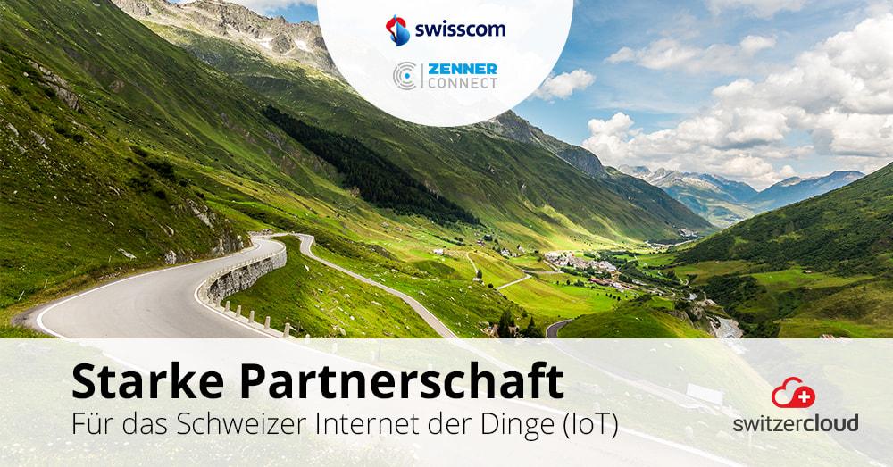 Swisscom und ZENNER Connect beschliessen Partnerschaft