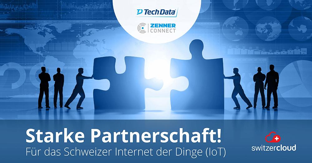 Tech Data Schweiz und ZENNER Connect beschliessen Partnerschaft in der Schweiz